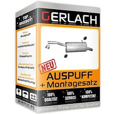 Auspuff Citroen Berlingo / Peugeot Partner II 1.6 HDi Endschalldämpfer *4222