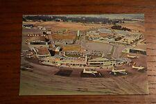 Christchurch International Airport Mid-Century Harewood New Zealand NZ Postcard