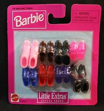 BARBIE - LITTLE EXTRAS - Casual shoes - 6 pr. #67036-84- NEW - NRFB