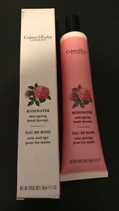 CRABTREE & EVELYN ROSEWATER ANTI-AGEING HAND THERAPY 2.5 OZ. BNIB BOXED