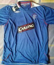 camiseta jersey shirt maillot trikot UMBRO GLASGOW RANGERS SCOTLAND  BNWT XL
