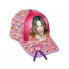 VIOLETTA sombrero con visera fantasía multicolor estampado lustroso de algodón