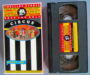 The Rolling Stones - Rock and Roll Circus (VHS, 1996)