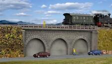 Kibri Bricked Railway Embankment, Single track - Kit - N Gauge - 37670
