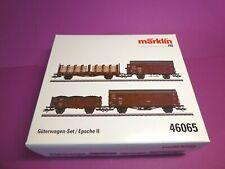 *MÄRKLIN H0 46065 DRG Güterwagen-Set