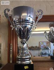 Large Silver Trophy, Presentation Trophy-Free Engraving 34cm