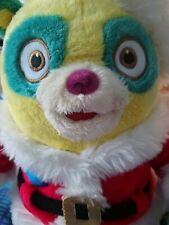 Special Agent Oso Bear Soft Toy As SANTA Father Christmas rare disney plush.