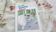 Janome 8000 Memory Craft Idea Craft Book Manual Nice Pre-Own Condition