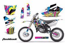 Yamaha Graphic Kit AMR Racing Bike Decal YZ85 Decal MX Parts 2002-2014 FLASHBACK