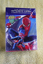 NEW/SEALED DVD SET! AMAZING SPIDERMAN 2 FILM COLECTOR'S SET + 3 PINT SIZE HEROES