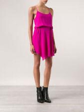 Haute Hippie Fuchsia Racer Back  Asymmetric Hem Dress  $475.00   Size S