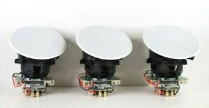 3x Polk Audio 70-RT In Ceiling Speakers (White) e796
