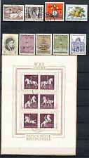 Oostenrijk jaargang 1972 gebruikt (blok op papier)