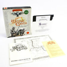 """J.R.R. Tolkien's War in Middle Earth for PC 5.25"""" in Big Box, 1989, VGC, CIB"""