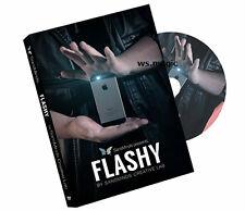 Flashy (DVD & Gimmick) by SansMinds Creative Lab Magic Trick Close Up Street T11