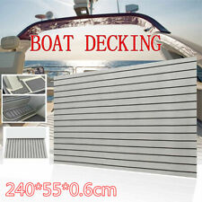 "21.7*94.5"" EVA Self-Adhesive Pad Faux Teak Carpet For Marine Flooring Yacht Boat"