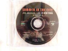 "JOE JACKSON ""Summer in the City: Live in New York"" BRAND NEW PROMO CD!"