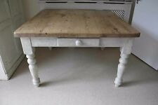 Pine Farmhouse Country Shabby Chic Dining Kitchen Table Delivery Available