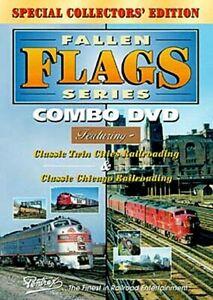 FALLEN FLAGS SERIES COMBO PENTREX NEW DVD VIDEO