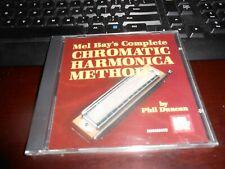 Brand-New Cd Mel Bay Complete Chromatic Harmonica Method by Phil Duncan