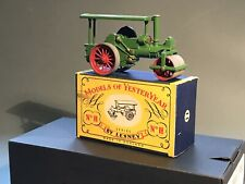 Matchbox Yesteryear, Y11 Aveling & Porter ,Scarce Issue 1.GOLD makers plate, NMB