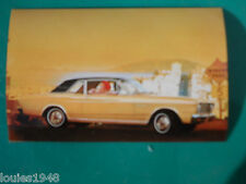 1966 FORD FALCON FUTURA SPORTS COUPE  Dealer promotional post card VINTAGE OLD
