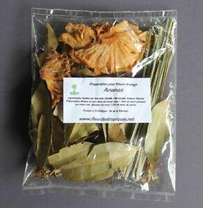 Préparation Rhum Arrangé - Ananas