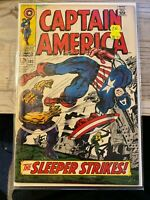 Captain America 102 Very Good+ 4.5 Marvel Comics Silver Age FREE SHIPPING!!