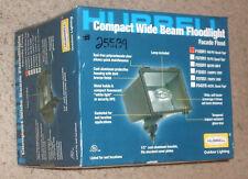 NEW hubbell compact wide beam floodlight F100H1 100PS Quad-Tap 100watt