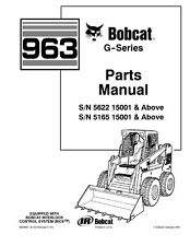 BOBCAT 963 G SERIES PARTS MANUAL REPRINTED COMB BOUND