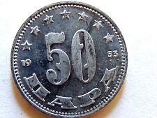 1953 Yugoslavian Fifty (50) Para Coin Lot C