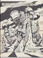 Marvelmania Magazine #3, Marvel Comics 1970, Starhawk, The Hulk