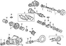 Genuine Toyota Axle Shaft Seal 90311-43009