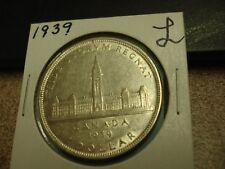 1939 - Canada dollar - Silver Canadian $1