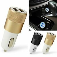 Mini Dual USB Car Charger 2 Port Adapter For Smart Mobile Cell Phone Universal