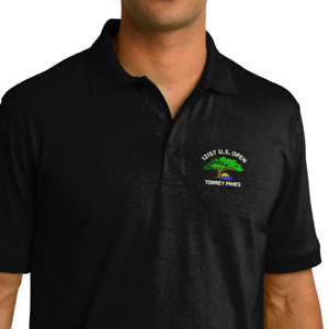 2021 U.S. Open   Torrey Pines Golf POLOS Embroidered  Polo Shirt