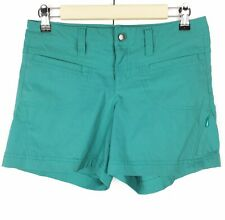 Athleta Women's Green Teal Stretchy Shorts Size 2
