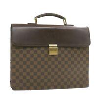 LOUIS VUITTON Damier Ebene Altona PM Hand Bag N53315 LV Auth 19799