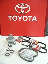 Timing Belt Water Pump Kit for OEM Toyota Engine / (7) Parts ... (8) Pieces