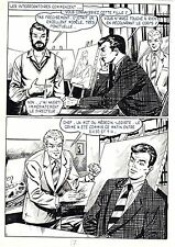 FLASH ESPIONNAGE PLANCHE ORIGINALE AREDIT PAGE 7