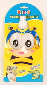 Childrens Foldable Water Bottle Buzzy Bee