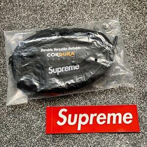 Brand New SUPREME Black Waist Bag Box Logo FW20 Sold Out Crossbody BOGO Hype UK