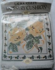 Unopened Laura Ashley Tapestry Cushion Kit Alba Roses Sealed Needlework New