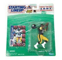 Kordell Stewart Starting Lineup Pittsburgh Steelers Kenner Figurine Card 1997