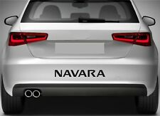 ADESIVI Paraurti Posteriore Si Adatta Nissan Navara Vinyl Decal XZ57 di qualità premium