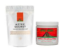 Aztec Healing Clay Indian Bentonite - 1lb 500g | Deep Cleanse Facial Body Mask