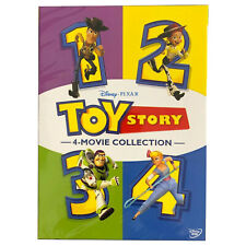 Toy Story 4 Movie Collection Dvd Complete 1 2 3 4 Film Combo New Free Shipping