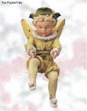 Retired Cicely Mary Barker Poplar Flower Garden Fairy Ornament Figurine NIB!