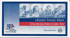 2002 P&D United States Uncirculated Coin Set Total of 20 Coins - (Inv #CS0312A)