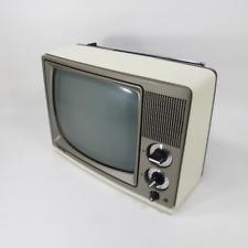 "Vintage Retro 1982 Quasar AP3230TH Portable 12"" Black & White TV Television"